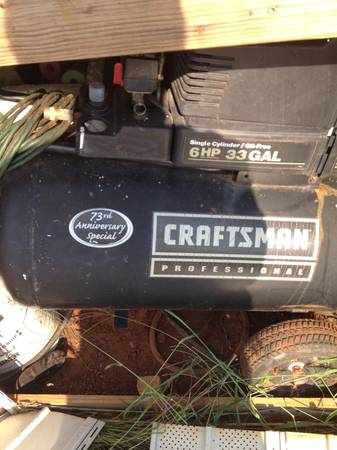 Craftsman Professional Air Compressor - $250 (Simsboro)