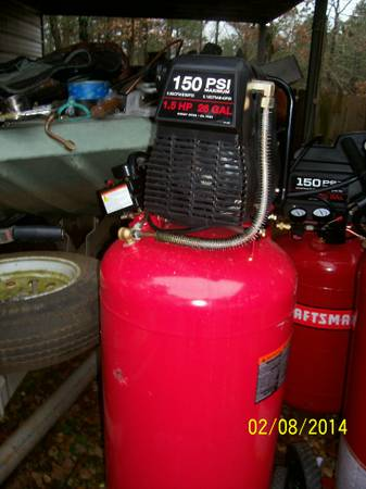 CRAFTSMAN 26 GALLON AIR COMPRESSOR - x0024185 (FARMERVILLE, LA)
