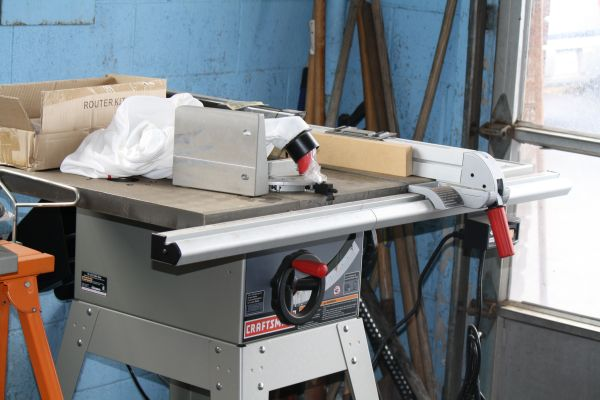 10 Craftsman Table saw(new) with router attachment - $475 (west monroe la)