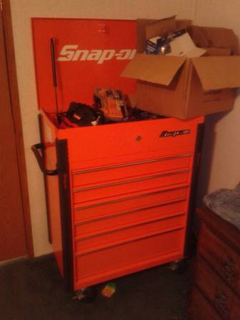 snap on monster roll around cart - $1000 (wilmar ar)