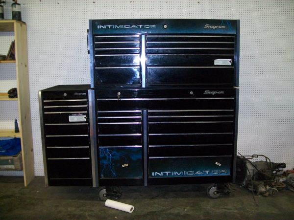 snap-on 29 drawer intimidator tool box - $4500 (downsville)