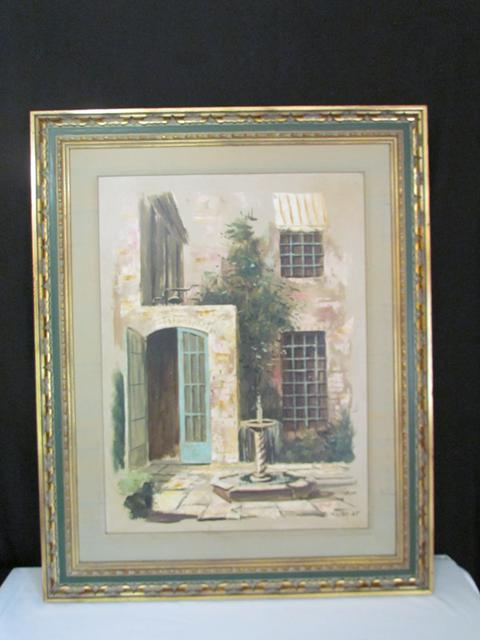 1 200  Local Artist Eugene Daymude Gene DMude Original Oil Painting 1965