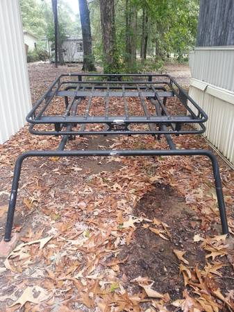 Kargo Master Roof Rack and Bushman Steel rack for jeep - $400 (Swartz, La)