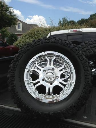 Dick Cepek mt Tires with gear recoil wheels - $1600 (Monroe, Louisiana)