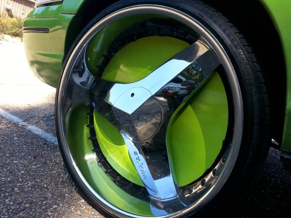 26 Inch Blades Rims For Sale