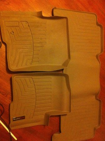 Weathertech floor mats Ford - $150 (Ruston)