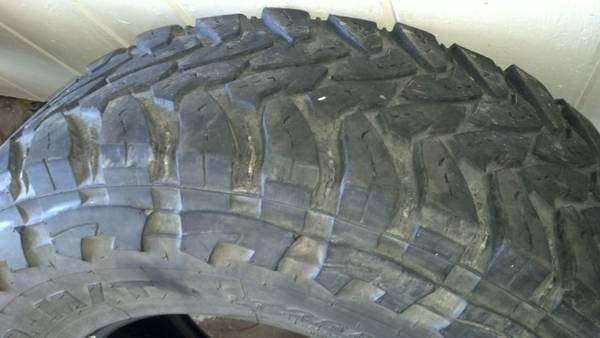 (4) toyo open country mt tires - $350 (shreveport)