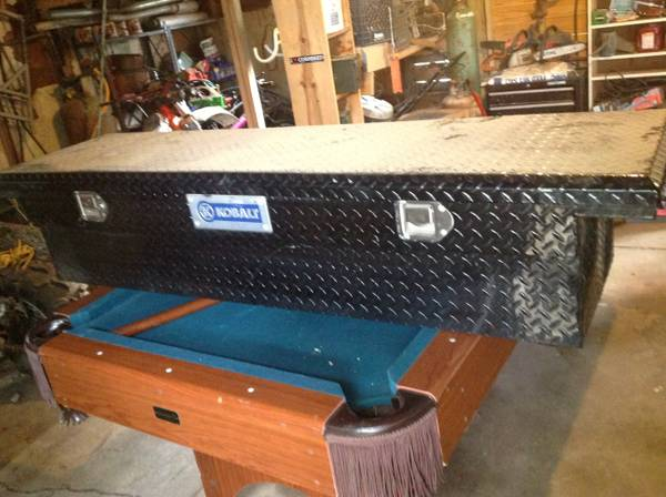 Kobalt low profile truck toolbox black - $100 (RayvilleMonroe area)
