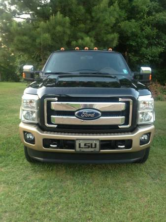 Ford F250 front bumper 2012 - $500 (West Monroe)