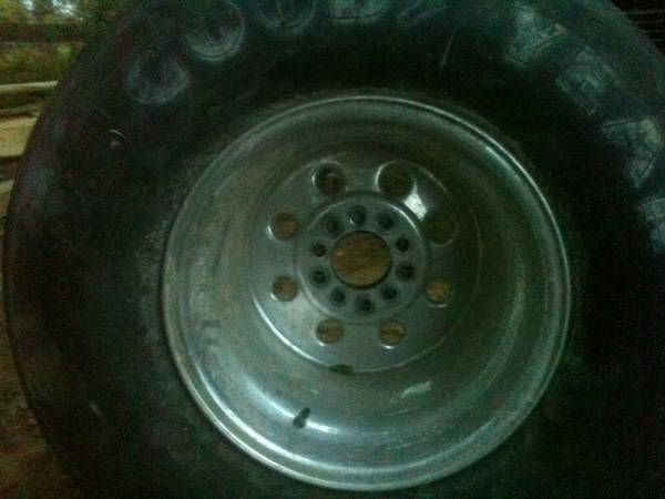 Set of 16x33x15 hossier tires and rims - $600