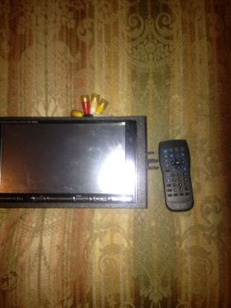 Alpine double din touch screen DVD  CD player with remote - $450 (Swartz)