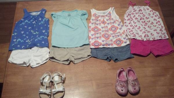 Toddler girl clothes 3T - 4T -   x0024 40  West Monroe