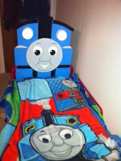 THOMAS TRAIN TODDLER BED - $85 (WEST MONROE)