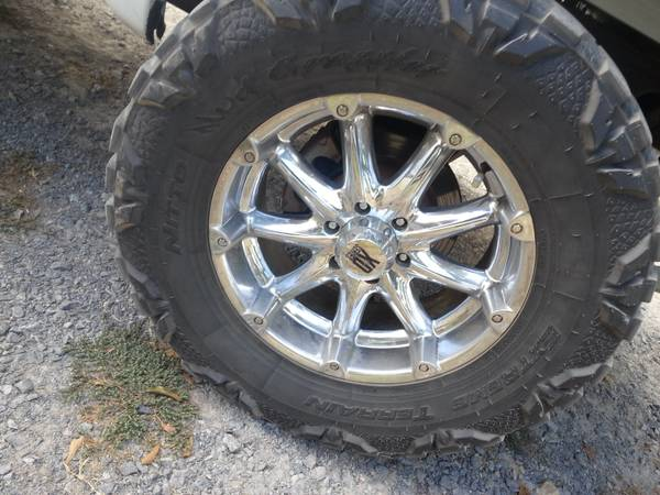 20 in xd badlands with 37 in mud grapplers - $1000 (west monroe)