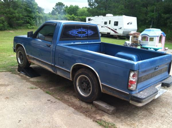 93 Chevy S10 Tahoe Edition - $1200 (west monroe)