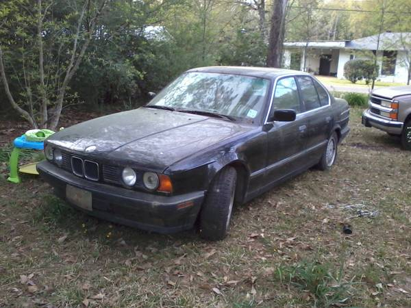 1994 bmw 525i, fiat, also gokart, motors, atv, projects, etc - $100 (WM mill area)