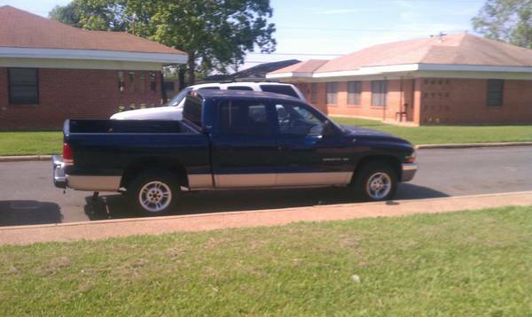 Work Truck Special (2000 dodge dakota quad cab) $2800 obo - $2800 (Shreveport, Louisiana)
