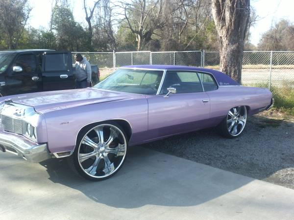 Look 73 impala 454 King of the Donks  (everywhere )