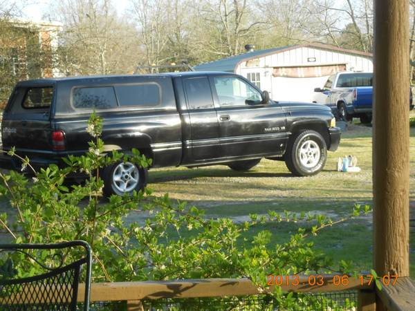 2001 DODGE RAM 1500 SPORT EDITION - $5800 (MONROE)