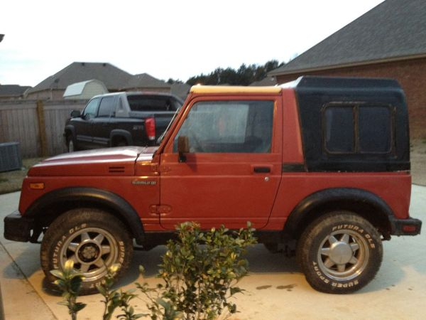 1987 Suzuki Samurai - $5000 (Madison)