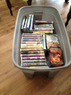 HUGE Lot of Disney VHS Movies Others - $40 (West Monroe)
