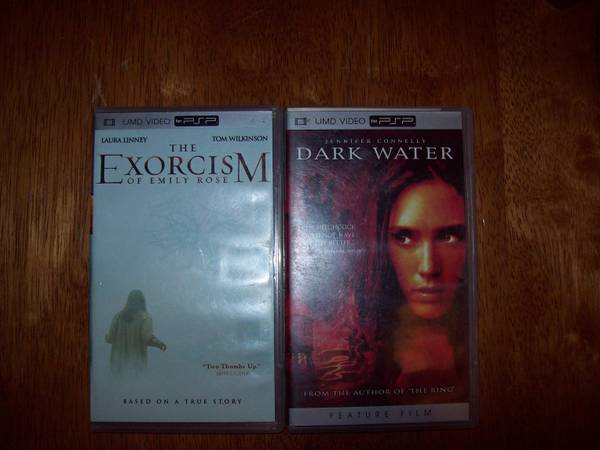 The Exorcism of Emily Rose  UMD  2005   amp  Dark Water  UMD  2005  2 Pack -   x0024 25  West Monroe  La