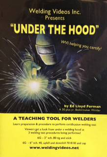 Under The Hood  See welding certification tests performed -   x0024 40  West Monroe