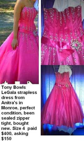 Prom or Homecoming Dress from Anitras - $150 (West Monroe)