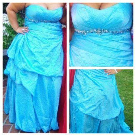 Beautiful Prom Dress Sz 24 - $175 (West Monrore)