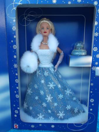 1999 Barbie Special Edition Snow Sensation Collector Doll  WEST MONROE