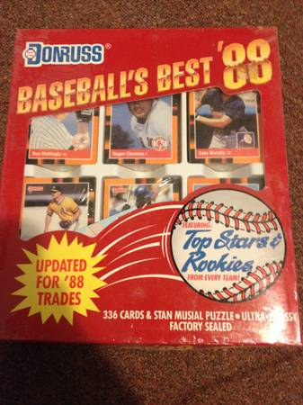 1988 top stars set never opened -   x0024 100  Bastrop