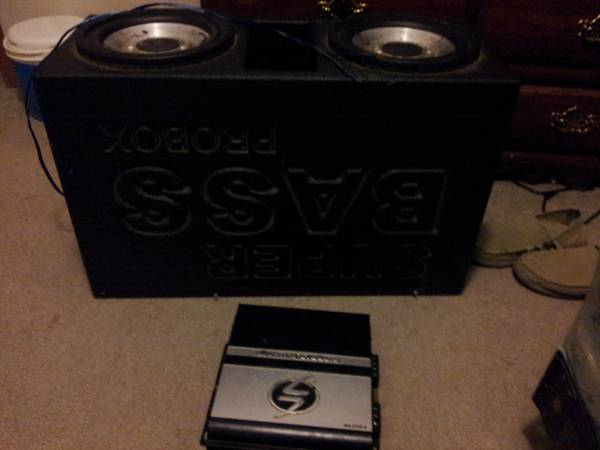 superbass probox with 2 10s - $150 (olla)