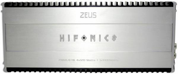 Hifonics Zeus 60.4  1K 5 Channel Amp - $225 (West Monroe)