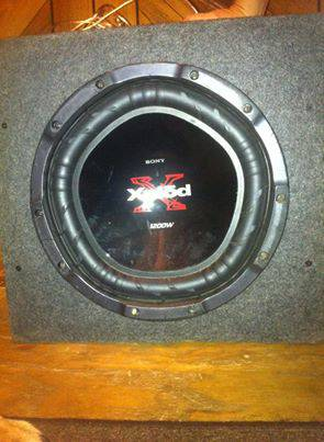 Sony Xplod 12 inch speaker and Box - $75 (West Monroe)