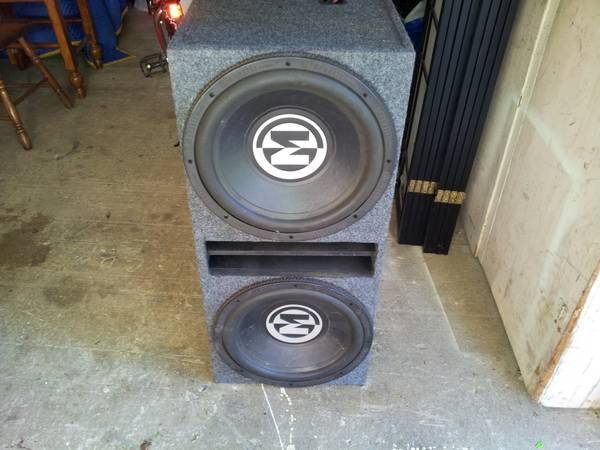 2 15 memphis subs in a ported box - $300 (monroe)
