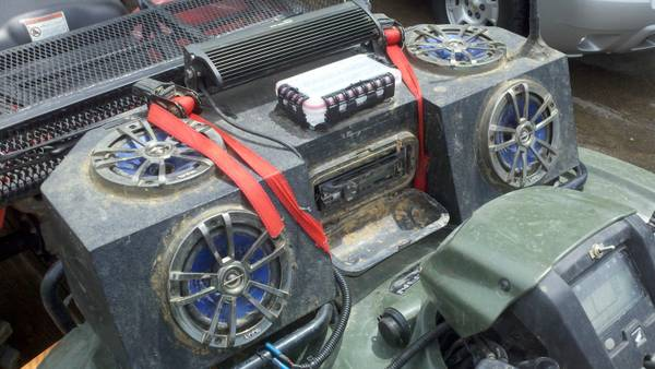 bayou mudworks- audiopipes and atv boxs (sibley la)