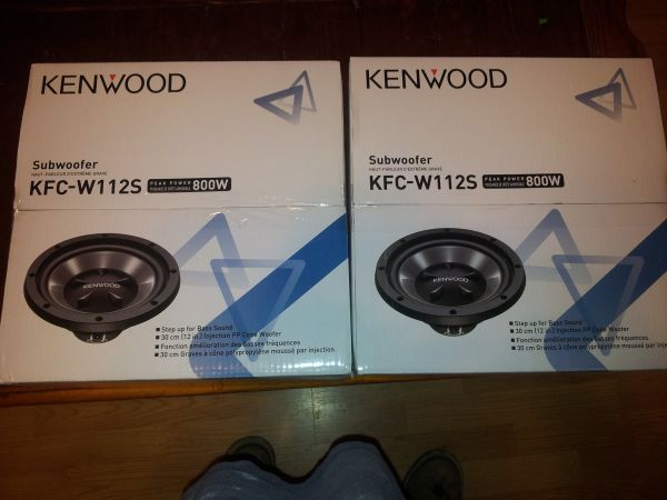 (2) new 12 kenwood subs. never opened - $100 (Monroe )