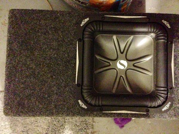 10 Kicker Solobaric L7 in Ported Box with 820W Pioneer Amp - $325 (Ruston)