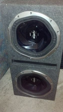 12inch Sony Xplod Subs with JL - $200 (Monroe, LA)