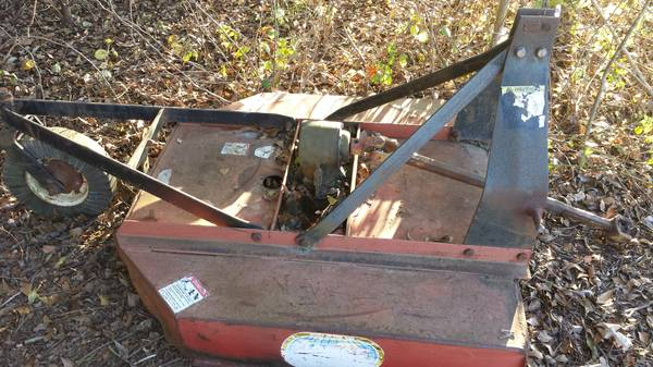 4 Ft Howse Bush Hog - $500 (Oak Grove la)