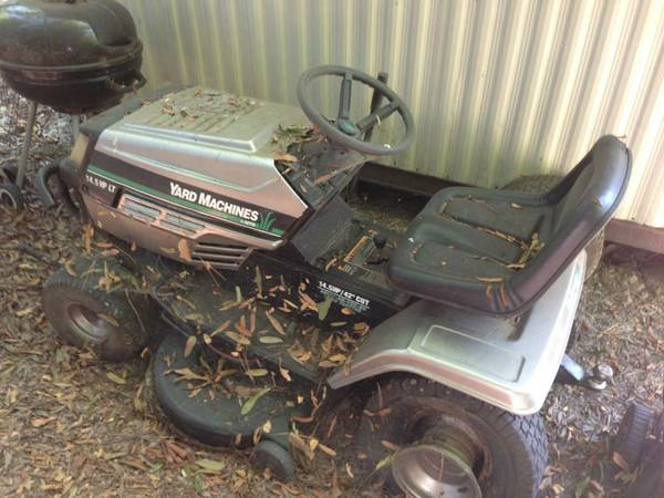Yard Equipment (Lawn Tractor, Push Mower, and Weedeater) - $240 (Swartz)