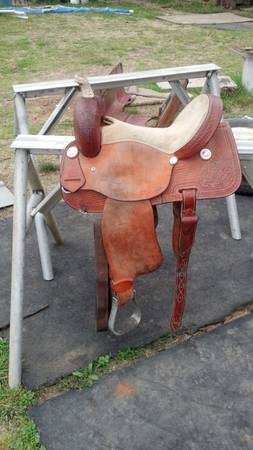 barrel saddle (calhoun la)