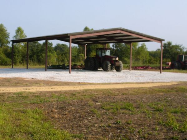Tractor Shed Hay Barn - $6650 (Central Louisiana)