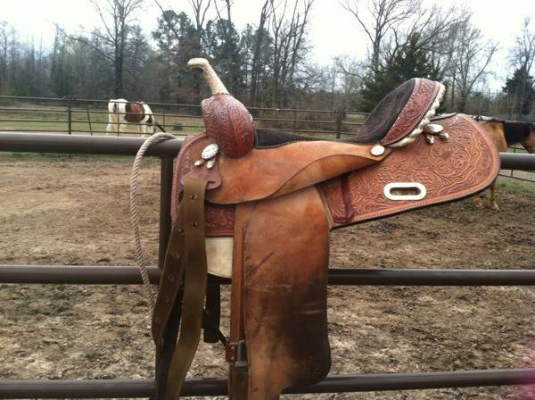 Martha Josey Barrel Saddle - $1200 (Cotton Valley, La)