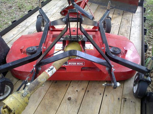 Bush Hog Brand 5 Foot Finish Mower - $995 (Swartz, Louisiana)
