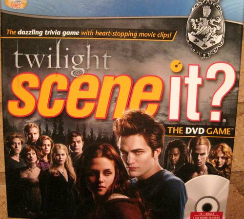 Twilight Scene It  the DVD game -   x0024 5  Monroe  LA