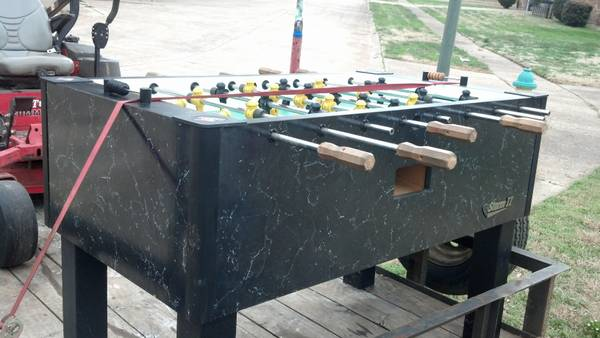 sell tornado storm II foosball table -   x0024 600  choudrant