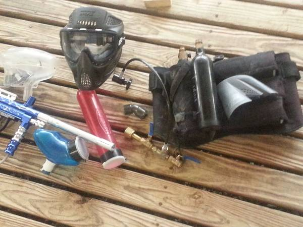 Paintball gun plus all -   x0024 100  southark