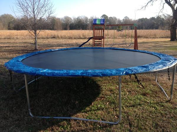 12  Trampoline Great Condition  -   x0024 75  310 Bayou Oaks