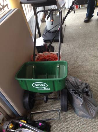 MOving sale... Dresser, brand name clothes set, Grill mower and more (Monroe)